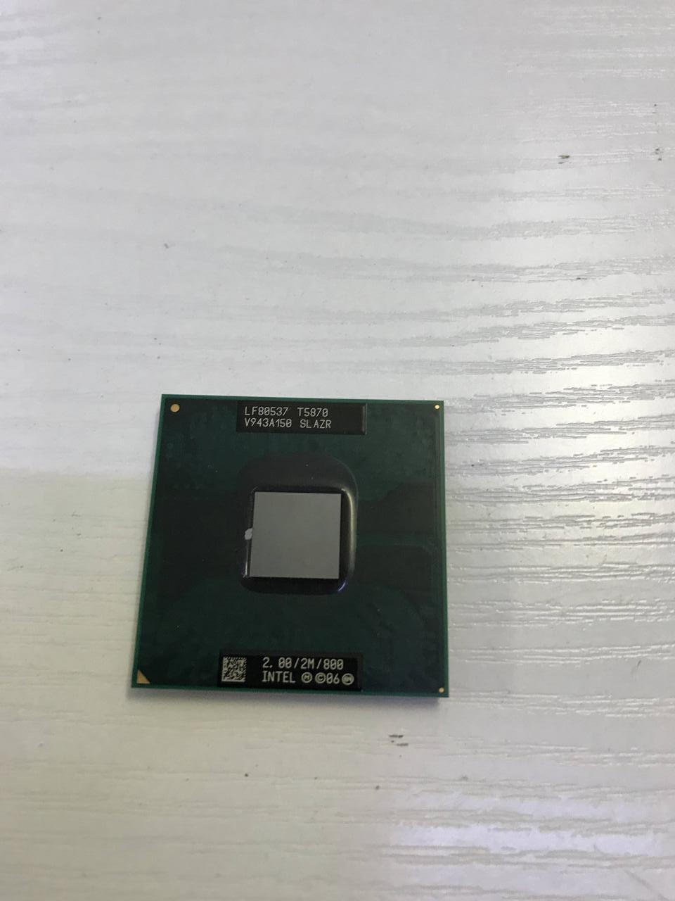 Процессор Intel Pentium T5870 - SLAZR - рабочий и исправный. Гарантия 1 месяц