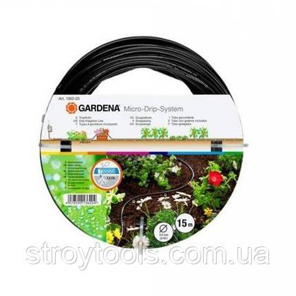 Шланг сочащийся Gardena для наземной прокладки, фото 2