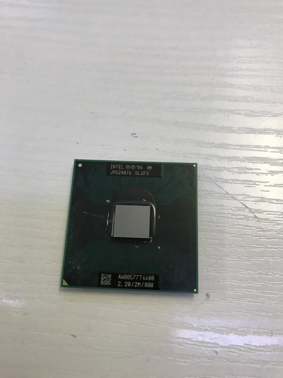 Процессор Intel Pentium T6600 - SLGF5  - рабочий и исправный. Гарантия 1 месяц