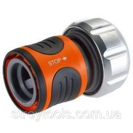 Коннектор с автостопом Gardena Premium 19мм (3/4') и 16мм (5/8'), фото 2