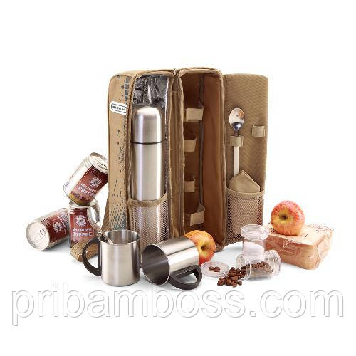 Набор дорожний для кофе и чая на две персоны