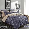 Комплект постельного белья сатин bella villa евро размер B-0137