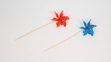 Ветрячок маленького размера. 2 вида. 4 цвета