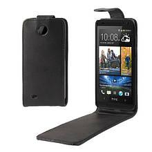 Чехол Flip Crazy Horse для HTC Desire 300 черный
