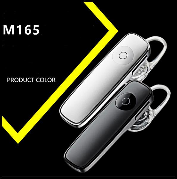 Ергономічна Bluetooth гарнітура M165 4,1 2 кольори для смартфонів і планшетів