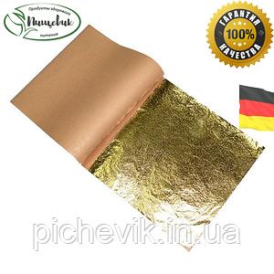 Поталь имитация золота, серебра .ТМ Noris (Германия) Книжка 25 листів (160х160 мм)