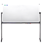 Оборотная магнитно-маркерная доска (90х120 см) напольная, поверхность для маркера и мела ABC Office 712920, фото 3