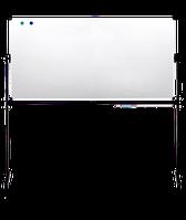 Оборотная магнитно-маркерная доска (90х120 см) напольная, поверхность для маркера и мела ABC Office 712920 Маркер
