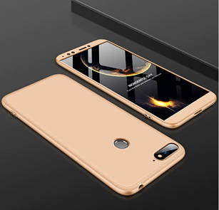 Чохол GKK для Huawei Y6 Prime 2018 Золотий