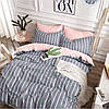 Комплект постельного белья сатин bella villa евро размер B-0171