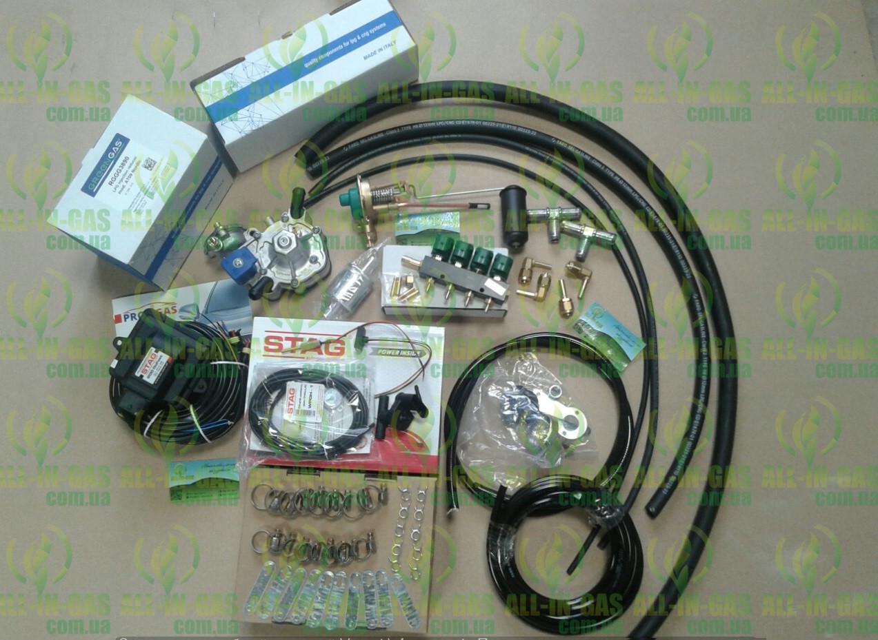 Комплект ГБО 4 поколения Stag 200 go Fast (ред. tomasetto, форс.Valtek фил.12/12)