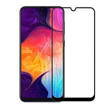 Защитное стекло OP Full cover для Samsung A20 2019 A205 черный