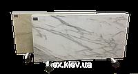 Напольный керамический обогреватель Lifex ПКП1200 / белый мрамор