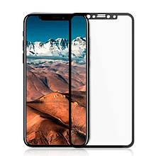 Защитное стекло OP Full cover для iPhone X Xs черный