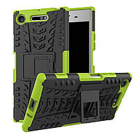 Чехол Armor Case для Sony Xperia XZ1 G8342 (5.2 дюйма) Лайм