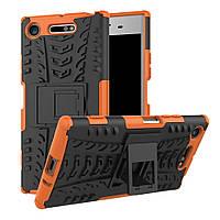 Чехол Armor Case для Sony Xperia XZ1 G8342 (5.2 дюйма) Оранжевый