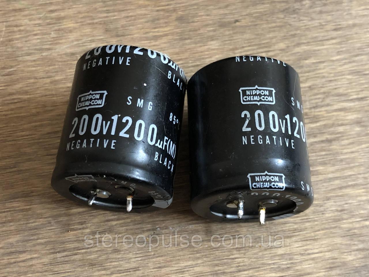 Конденсатор Nippon 1200мкФ 200В