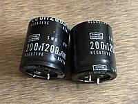 Конденсатор Nippon 1200мкФ 200В, фото 1