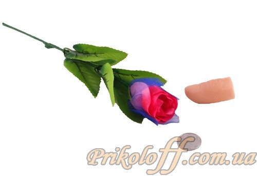 """Фокус """"Горящий палец зажигает розу"""""""
