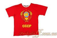 """Футболка мужская """"CCCP"""", красная"""