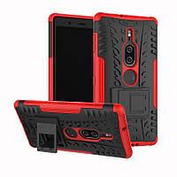 Чехол Armor Case для Sony Xperia XZ2 Premium Красный
