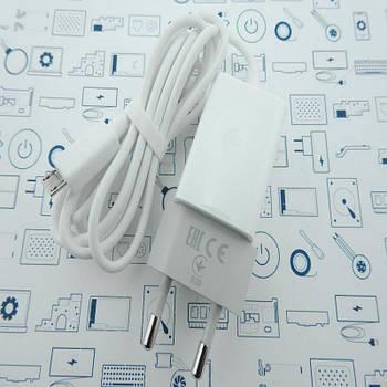 Блок питания 5V, 550mA с кабелем Micro USB Сервисный оригинал с разборки