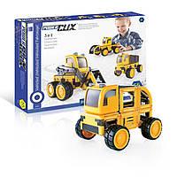 Конструктор детский Guidecraft PowerClix Строительная техника 55 деталей (G9460)