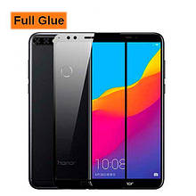 Защитное стекло Optima 3D Full Glue для Huawei Honor 7a Pro Black