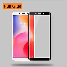 Защитное стекло Optima 3D Full Glue для Xiaomi Redmi 6a Black