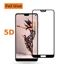 Защитное стекло OP 5D Full Glue для Huawei P20 черный