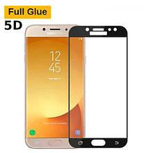 Защитное стекло OP 5D Full Glue для Samsung J530 J5 2017 черный