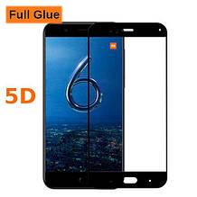 Защитное стекло OP 5D Full Glue для Xiaomi Mi6 черный