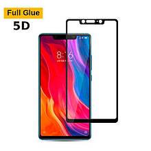 Защитное стекло OP 5D Full Glue для Xiaomi Mi8 SE черный