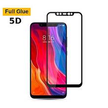 Защитное стекло OP 5D Full Glue для Xiaomi Mi8 черный