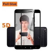 Защитное стекло OP 5D Full Glue для Xiaomi Redmi 4x черный