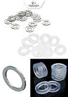 Прокладки силиконовые ( прозрачный ПВХ )