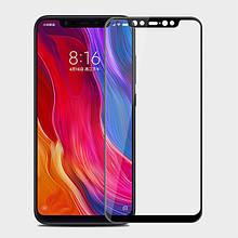 Защитное стекло OP Full cover для Xiaomi Mi8 черный