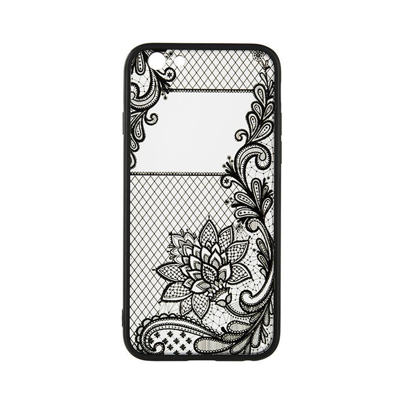 Чехол накладка силиконовый Rock Tatoo Art для Huawei Y7 Prime 2018 Magic Flowers