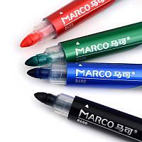 "Маркер ""Marco"" Board 8600 сухостираемый синий"
