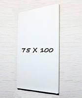 Доска магнитно-маркерная тонкая 75х100 безрамная Tetris