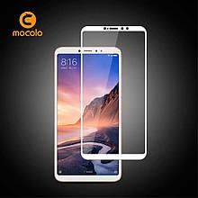 Защитное стекло Mocolo Full сover для Xiaomi Mi Max 3 Pro белый