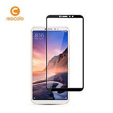 Защитное стекло Mocolo Full сover для Xiaomi Mi Max 3 Pro черный