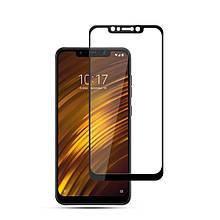 Защитное стекло Mocolo Full сover для Xiaomi Pocophone F1 черный