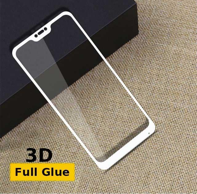 Защитное стекло Optima 3D Full Glue для Xiaomi Redmi 6 Pro White