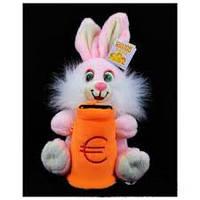 Мягкая игрушка озвученная (Копилка) Заяц №7386-19,игрушка-копилка,подарки для любимых девушек