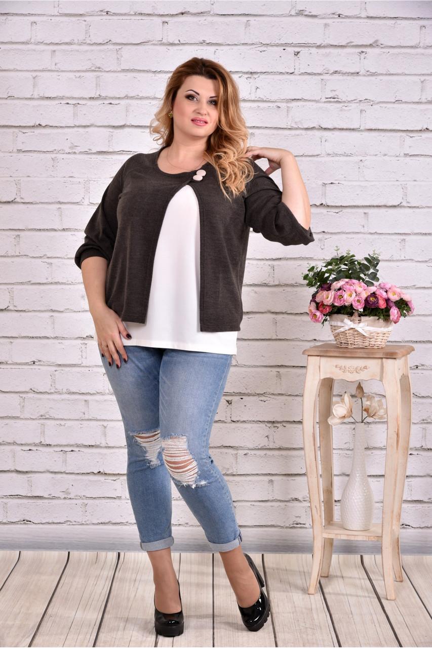 Блузка хакі   0635-2