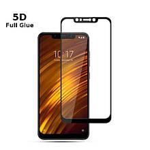 Защитное стекло OP 5D Full Glue для Xiaomi Pocophone F1 черный