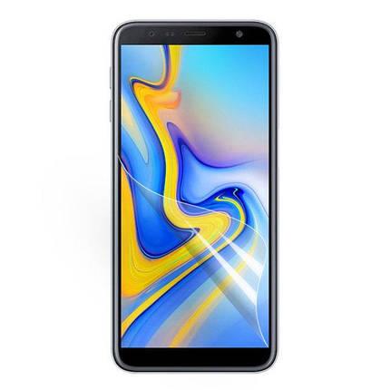 Защитная пленка полиуретановая Optima для Samsung J4 Plus J415 Transparent, фото 2