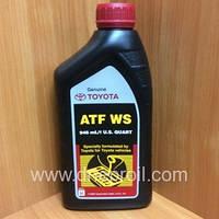 Трансмиссионное масло TOYOTA ATF WS (00289-ATFWS) 1л. (946 мл.)