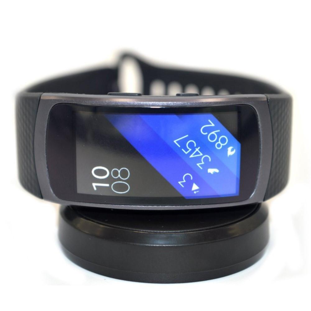 Зарядное устройство SK для Samsung Gear Fit 2 R360 2 Pro R365 черный
